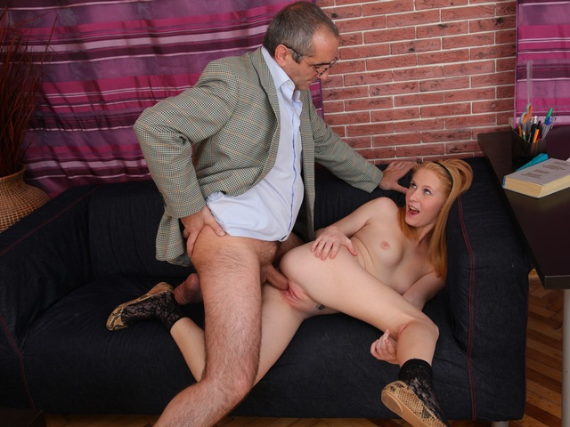 dirty 18 - You need to watch those dirty old teachers, they get all the sex action