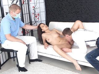 Lena's gynecologist watches her have sex in order to diagnose her correctly